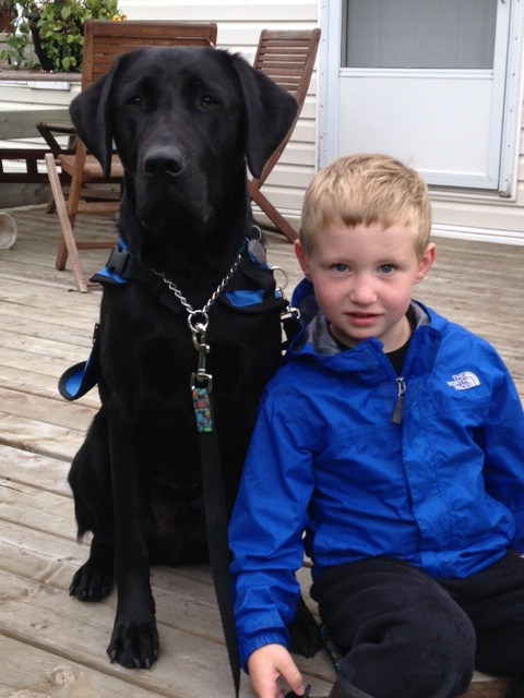 Jake & Autism Support Dog Serge