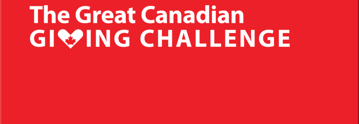 Thank you for your amazing response to the Great Canadian Giving Challenge!