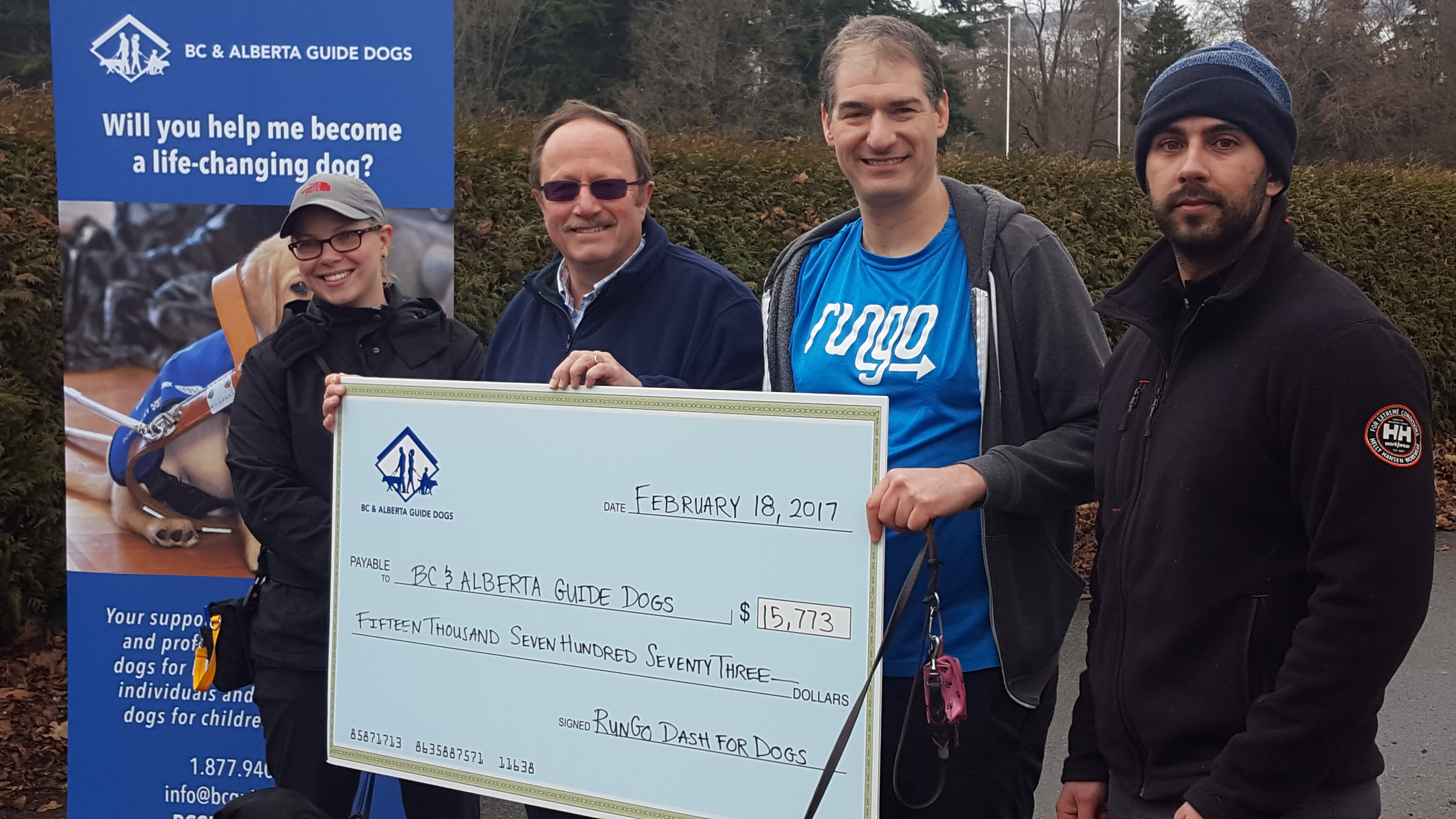 RunGo Dash for Dogs 2017 Raises $16,000 for BC & Alberta Guide Dogs