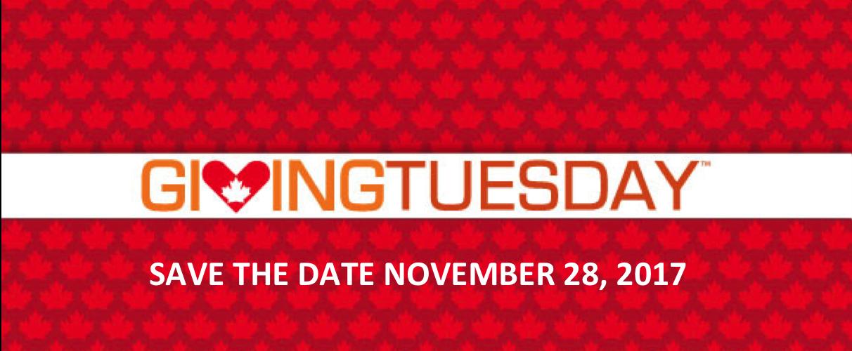 Giving Tuesday, November 28, 2017