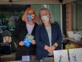 Joni and Linda at Registration
