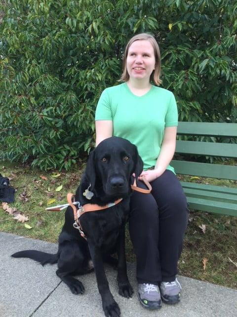 Melissa & Guide Dog Telus