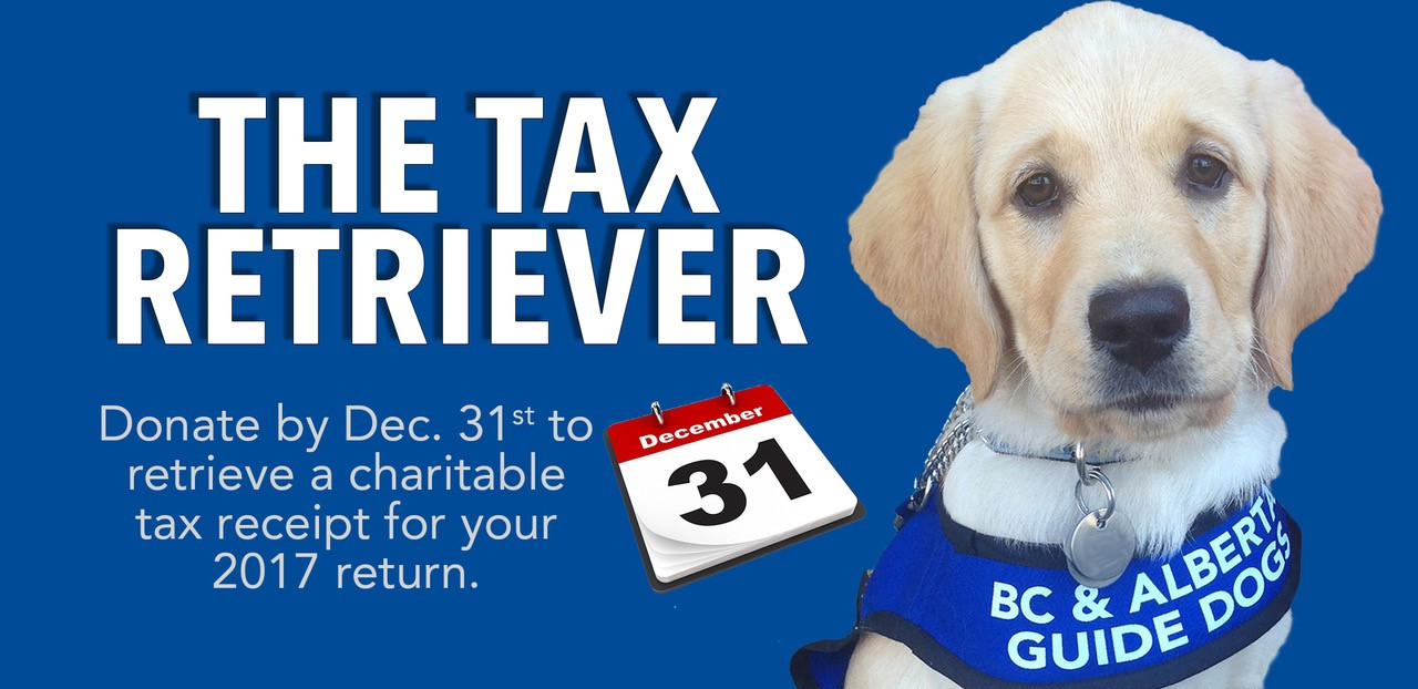 It's your last chance to make a tax-deductible charitable donation for your 2017 tax return!