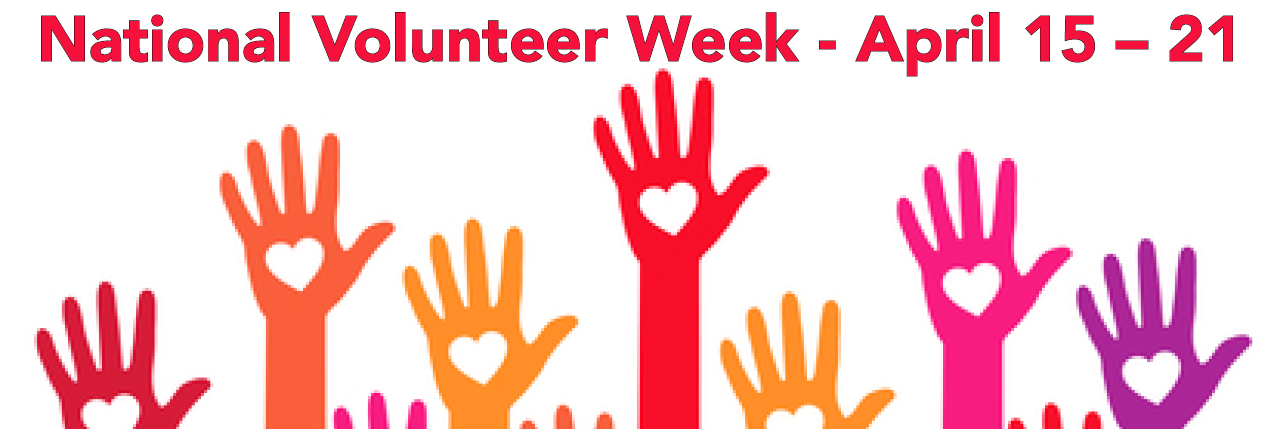 National Volunteer Week: Volunteers are the cornerstone of our organization
