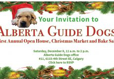 Alberta Guide Dogs hosting Open House