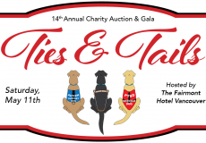 Ties & Tails – Tickets now on sale for our 14th Annual Charity Auction & Gala