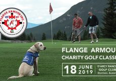 Calgary Golf! 1st Annual Flange Armour Charity Golf Classic in support of Alberta Guide Dogs