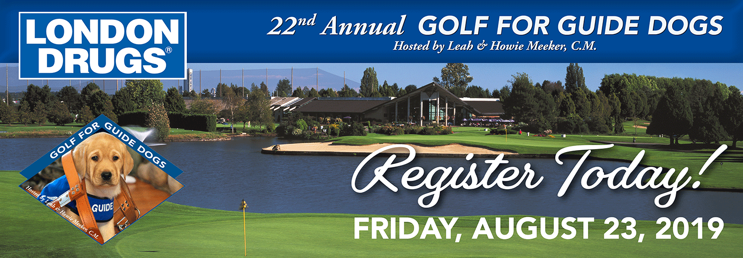 Register Today! Golf for Guide Dogs – August 23, 2019