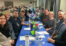 Enthusiastic attendees tested their brain cells at Calgary Trivia 2019