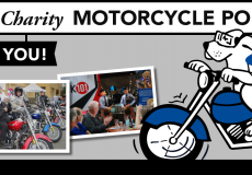 Riders rode for a cause in the 1st Annual Motorcycle Poker Run fundraiser