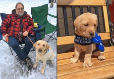 SUCCESS STORY: Ed and Guide Dog Annie