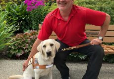 Guide Dog Team Graduates in New Westminster