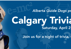 Alberta Guide Dogs presents Calgary Trivia Night on April 25th