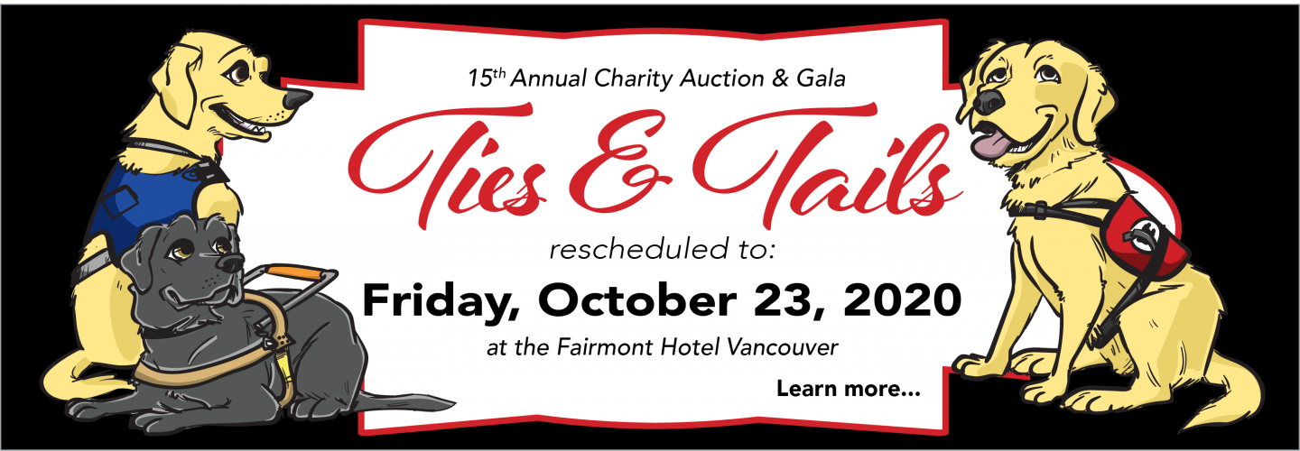 15th Annual Ties & Tails Charity Auction & Gala is now October 23, 2020