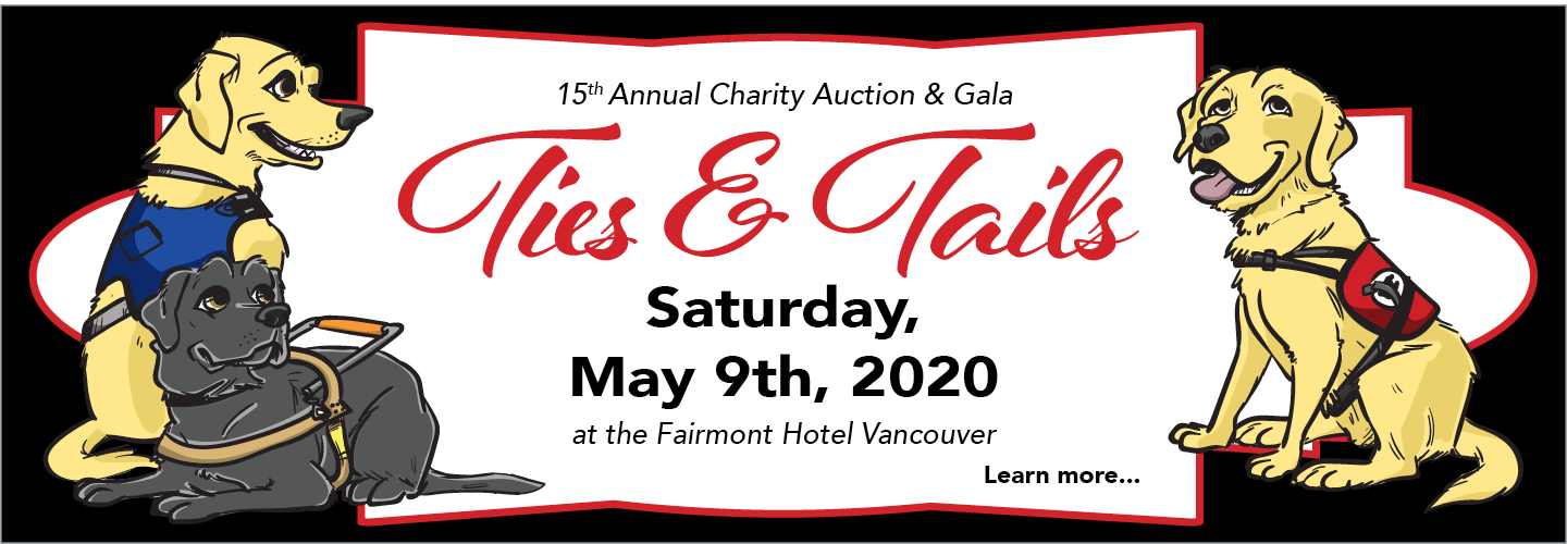 You're invited! The 15th Annual Ties & Tails Charity Auction & Gala is on Saturday, May 9th, 2020