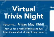 Virtual Trivia Night Returns on May 15, 2020!