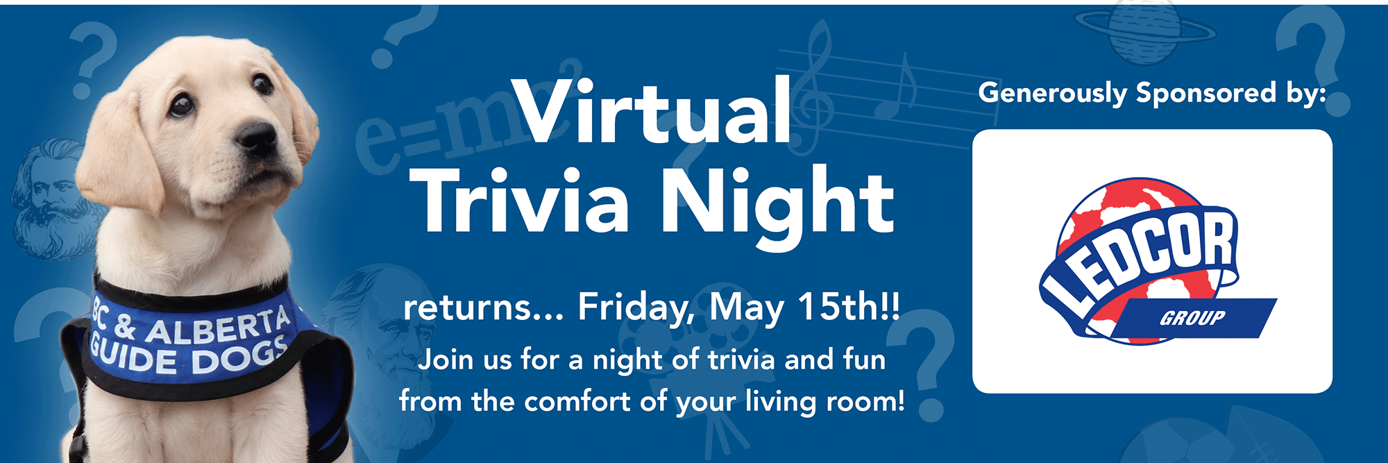 Virtual Trivia Night Returns on May 15, 2020!