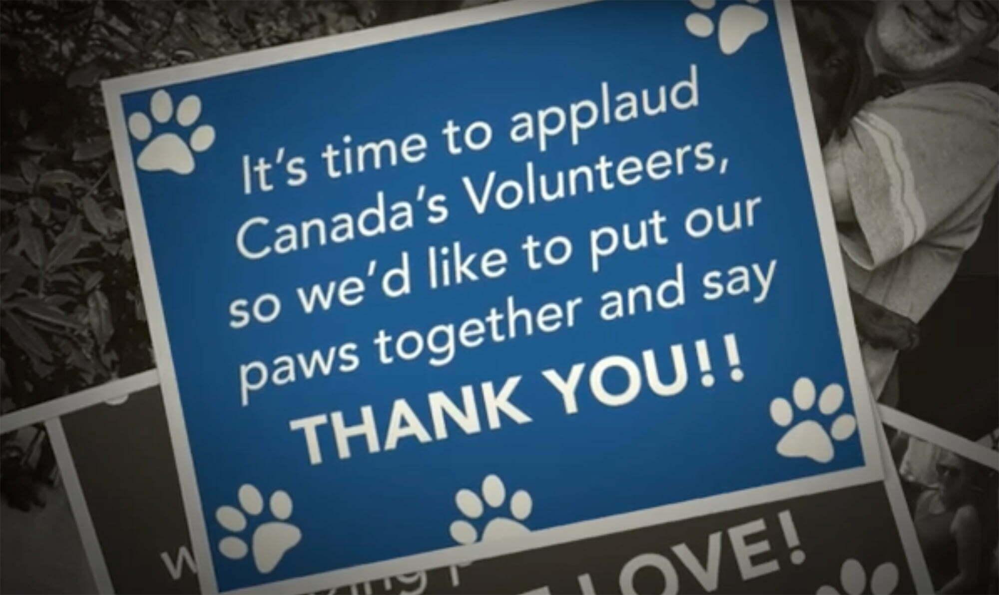 It's National Volunteer Week! Thank you to our volunteers!