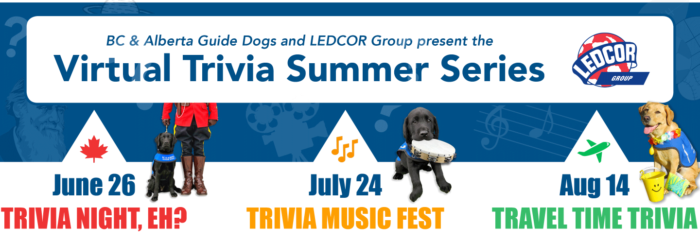 Announcing the Virtual Trivia Summer Series! Join us on June 26th, July 24th, and August 14th