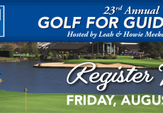 "Register Today! 23rd Annual Golf for Guide Dogs ""lite"" is August 21st, 2020"