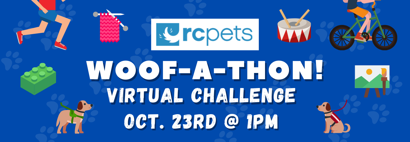 RC Pets Woof-a-Thon Virtual Challenge – Sign up today!